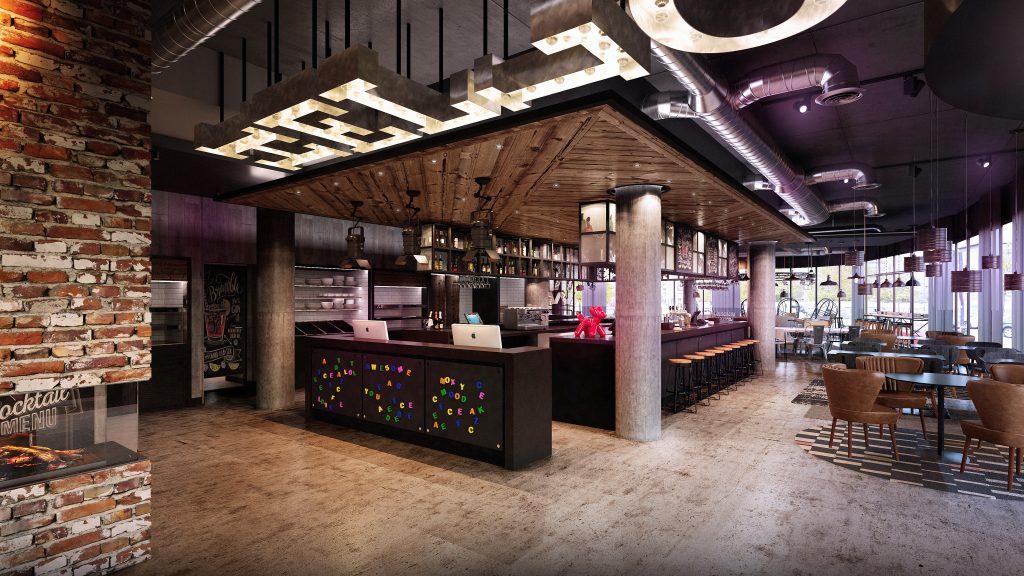 Moxy Hotel – Public Areas