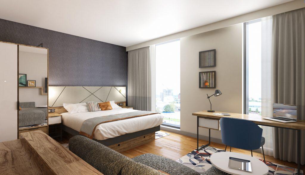 Residence Inn Hotel – Guestrooms
